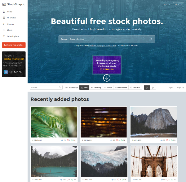StockSnap.io - Beautiful Free Stock Photos