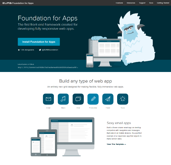 ZURB Foundation for Apps
