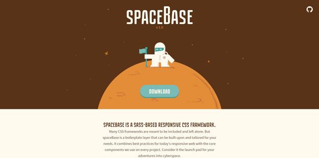spacebase - Useful Frameworks for Front-end Developers