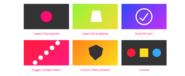 jQuery animation plugins