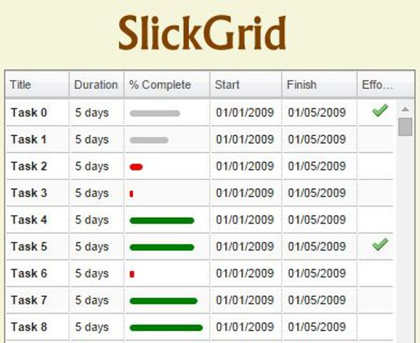 13 Best JavaScript Data Grid Libraries: |