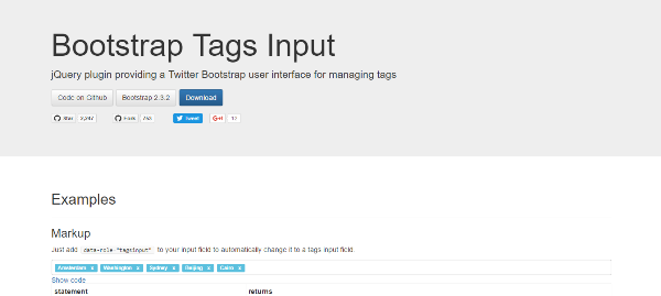 jquery bootstrap plugins