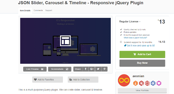 best CSS carousels for web designers