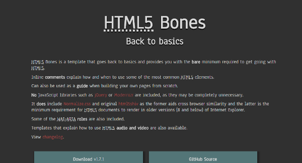 HTML5 Libraries and Tools for Developers