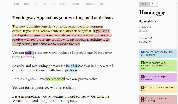 Writing Tools for Bloggers and Content Writers