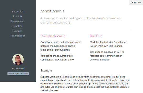 Conditioner.js • Frizz Free, Environment-aware, JavaScript Modules