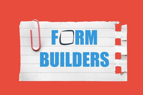 HTML form builders and tools