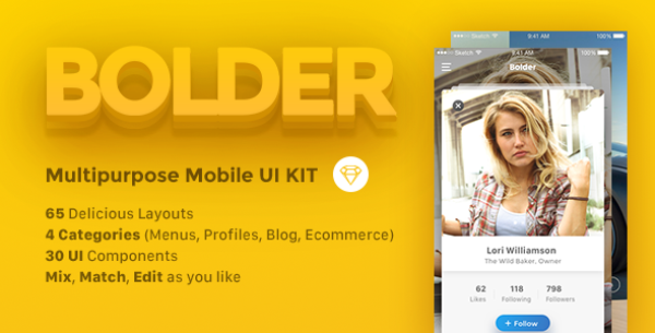 UI Kits for Web Designers