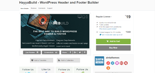 wordpress footer plugins
