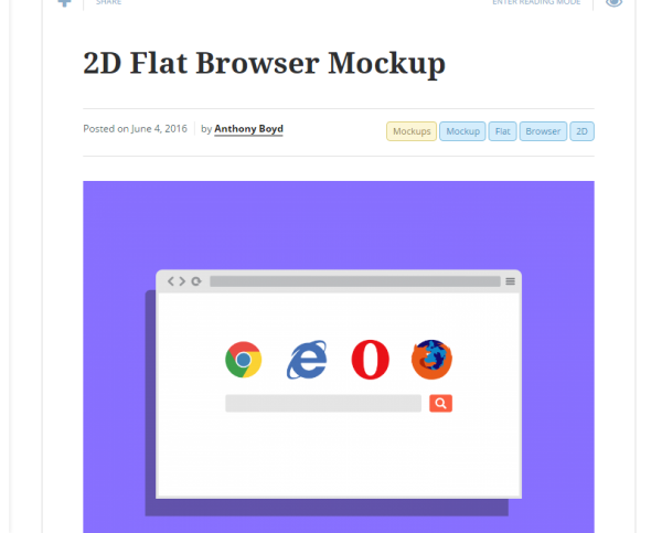 free web browser mock-ups